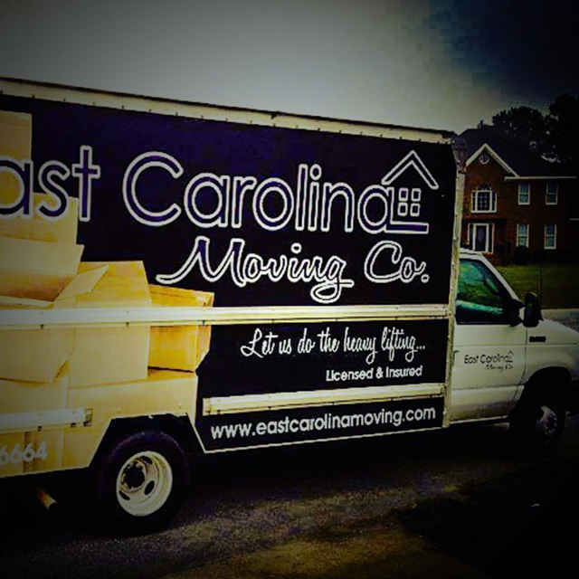 east carolina moving truck